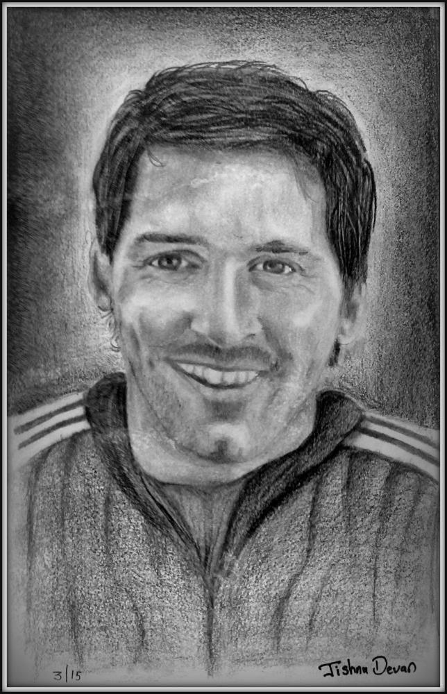 Lionel Messi by jishnudevan